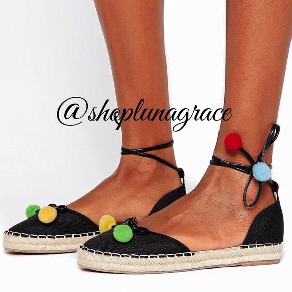 London Rebel Shoes | Pom Pom